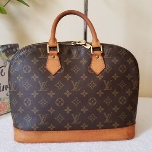 LV alma pm authentic